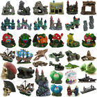Aquarium Fish Tank Ornament Rockery Hiding Cave Landscape Underwater Decor Lot