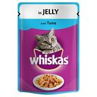 Whiskas Adult Single Flavour Pouches Cat Food
