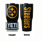 (YETI) Pittsburgh Steelers (Powder Coated tumbler 30 oz)  NO VINYL on eBay