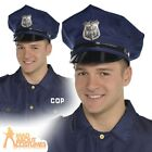 Adult Police Officer Hat Cop Mens Ladies Policeman Fancy Dress Costume Accessory