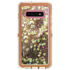 For Samsung Galaxy S10+ Plus Glitter Defender Case W/Screen Fits Otterbox Clip