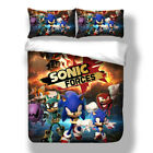 Sonic The Hedgehog Bedding Set Duvet Cover Twin Full Queen King Game Quilt Cover image