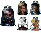 Rapper Xxxtentacion 3D Print School Bags Students Bags Women Men Daily Backpack