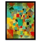 Paul Klee Southern Tunisian Gardens 1919 Old Master Painting 12X16 Framed Print