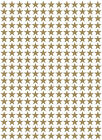 260 X Star Shaped Vinyl Stickers, 1.5cm Self Adhesive Cardmaking Scrapbooking