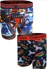 NEW National Lampoon's Christmas Vacation 2 Pack Mens Boxer Briefs Holiday Funny