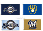 Milwaukee Brewers Flag Polyester 3x5ft Mancave MLB Baseball FAST SHIPPING NEW! on Ebay