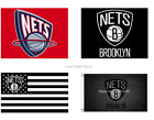 Brooklyn NETS Flag 3x5 Ft Polyester Mancave Outdoor NEW! NBA Gift FAST SHIPPING on eBay