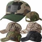 Military Cap US American Flag Camouflage Embroidered Tactical Army Air Force