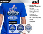 Los Angeles Dodgers - OPENING DAY RECORD 8 Home Runs Graphic T-Shirt Men's on Ebay