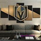 Vegas Golden Knights 5 pieces Canvas HD Prints Painting Wall Art Home Decor $55.0 USD on eBay