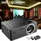 1080P Portable Mini LED Android Bluetooth Video Projector Home Cinema Games HDMI