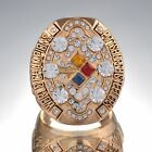 Hot 2008 Pittsburgh Steelers Super Bowl Winner Ring With Diamond Premium Ring