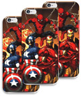 AVENGER'S SUPERHEROES PHONE Ultra-thin CASE FOR iPHONE 7 & 7 Plus