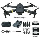 Drone X Pro Foldable Quadcopter WIFI FPV w/720P 2MP HD Camera 3 Extra Batteries
