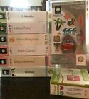 Cricut Cartridges-Large Collection to Choose From-Linked EUC Boxes Included