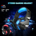 Gaming Headset Stereo Earphones PC X-Box Games Headphones W/ Mic Fits Laptops PC