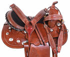 Premium Hand Carved Leather Barrel Racing Trail Used Western Saddle Horse Tack