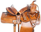 Used Western Saddle 15 16 17 18 Pleasure Trail Ranch Roping Horse Tack Premium