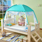 Baby Folding Crib Tent Bed Canopy Zip-Up Mosquito Net Playhouse Nursery Outdoor image