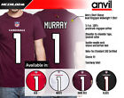 Kyler Murray, Arizona Cardinals #1 NFL Jersey Style Graphic T-Shirt Men's on eBay