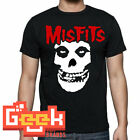 MISFITS TSHIRT - PUNK ROCK MEN's T SHIRT SMALL-5XL RED/BLACK LOGO image