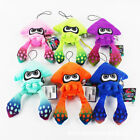 Splatoon Plush Doll Green Pink Orange Squid Stuffed Animal Toy Kids Gift -8 In.
