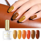 BORN PRETTY 6ml Gel Polish Pumpkin Color Series Soak Off Nail Art Gel Varnish