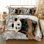 Panda Bedding Duvet Cover Set Twin Full Queen King Size Pillow Case Animal Print