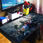 Marvel Avengers Captain America iron Man Mouse Pad Mat Waterproof Large Thicken
