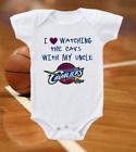 Cleveland Cavaliers Onesie Bodysuit Shirt Love Watching With My Uncle on eBay
