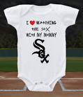 Chicago White Sox Onesie Bodysuit Shirt Love Watching With Mommy on Ebay