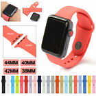 Silicone Bracelet Band Strap Sports Bands For Apple Watch iWatch Series 1/2/3/4