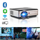 LED HD Home Theater Video Projector Gaming Party Movie Sport 1080p VGA USB HDMI