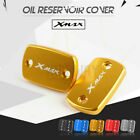 Front Brake Fluid Reservoir Cover Set For Yamaha X-MAX 300 XMAX250 2017-2019