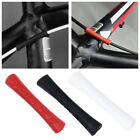 4Pcs Silicon Protector Road Bike Black MTB Outer Brake Gear Cable Bicycle Frame