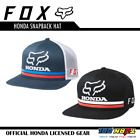 FOX X HONDA SNAPBACK HAT 22996 Men's MotoX Track Rider Cap Official Honda Gear $33.95 USD on eBay