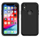 Case iPhone 7 8 Plus XR XS Samsung S9 S10 Defender Case Cover with Clip
