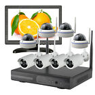 CCTV  Wireless NVR Kit Security Camera System WiFi 720P Camera With Hard Drive