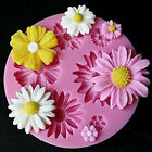 DIY 3D Flower Silicone Mold Fondant Cake Decorating Chocolate Sugarcraft Mould image