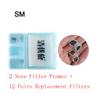 Removable Pollen Allergy Nose Filters Anti Air Pollution Nose Invisible Mask