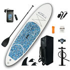 10'Inflatable SUP Stand Up Paddle Board Surfboard w/paddle pumb package leash