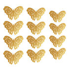 12pcs 3D Butterfly Wall Stickers Art Decals Home Room Decorations Decor US