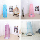 Fancy Kids Crib Bed Canopy Bedcover Mosquito Net Round Tent for Game House