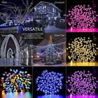 100 200 LED Solar String Fairy Light Garden Christmas Outdoor Party Decoration