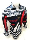 Mens PREMIERE Long Sleeve Button Down Dress Shirt RED DIAMOND LEAF DESIGN 617