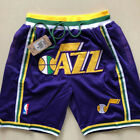 Utah Jazz Vintage Basketball Game Shorts NBA Men's NWT Stitched on eBay