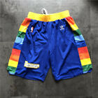 Denver Nuggets Vintage Basketball Game Shorts NBA Men's NWT Stitched