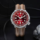 New Tuna SBBN015 Men Automatic Watch San Martin diving Watch with steel bracelet image
