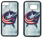 COLUMBUS BLUE JACKETS PHONE CASE COVER FITS iPHONE 7 8+ XS MAX SAMSUNG S10 S9 S8 $13.5 USD on eBay